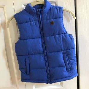 Toddler Boys Janie and Jack puff vest